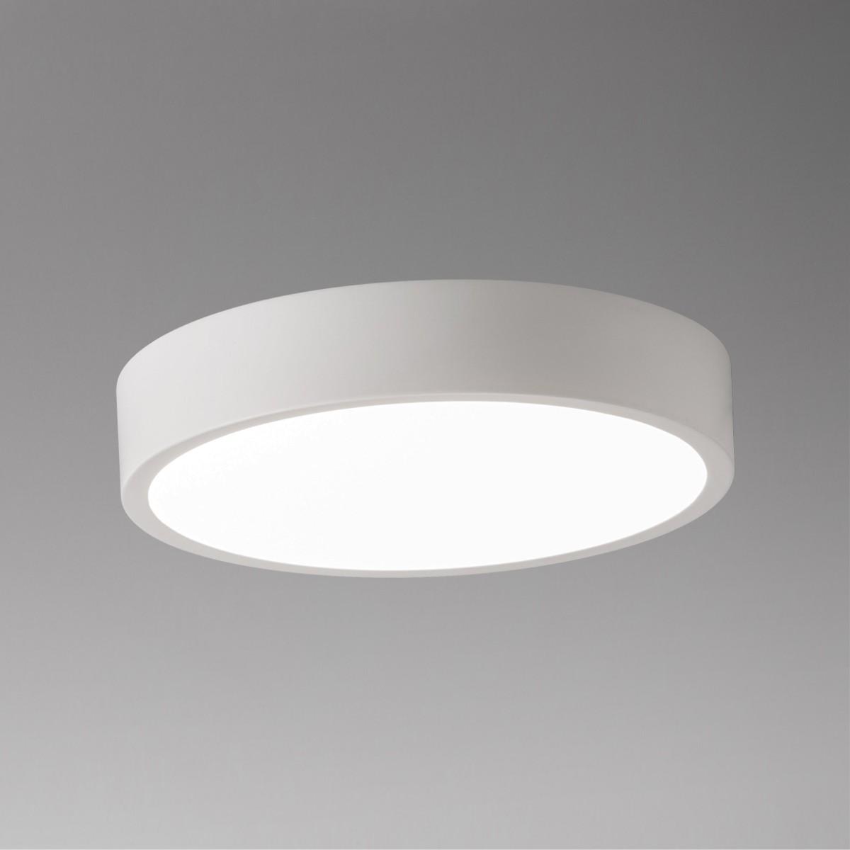 Lupia Licht Renox Deckenleuchte, Ø: 22,5 cm, weiß