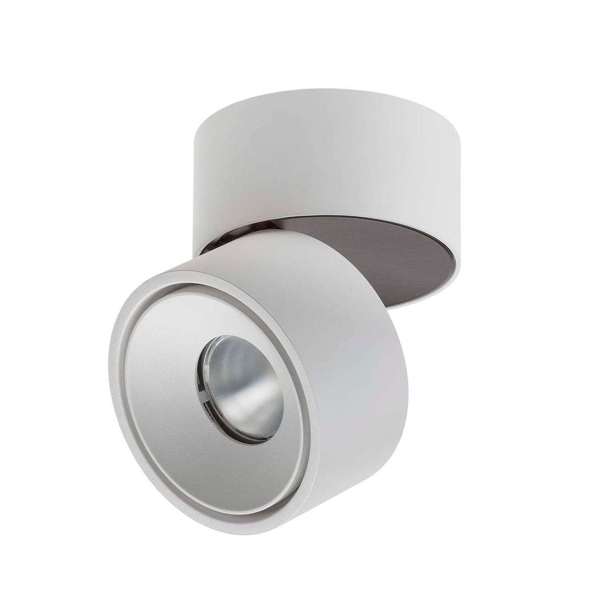 Lumexx Easy LED Wand- / Deckenleuchte, 10 W, weiß/schwarz