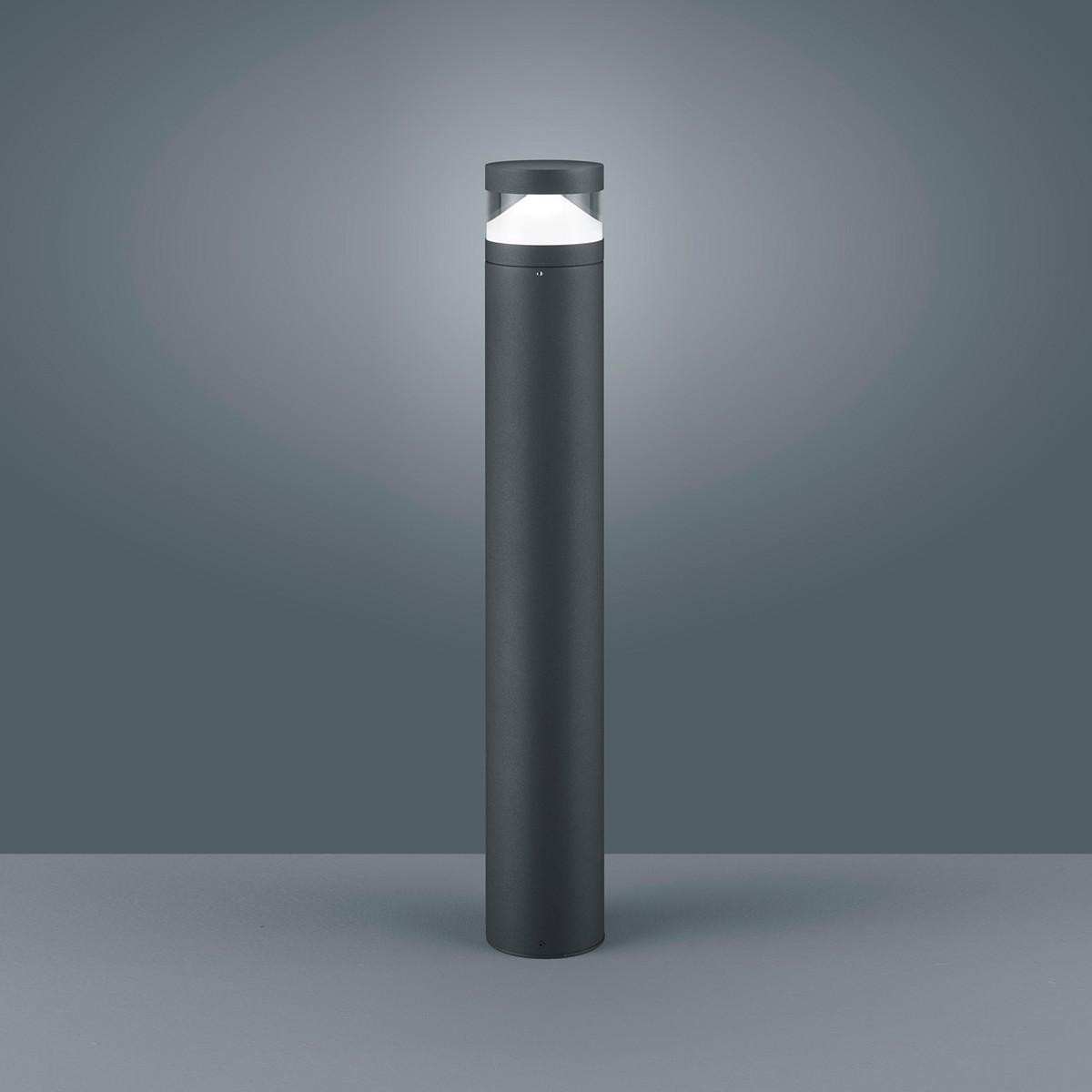 Helestra Mono LED Pollerleuchte, graphit