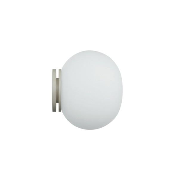 Flos Mini Glo-Ball C/W Wand- / Deckenleuchte, Ø: 11,2 cm, weiß