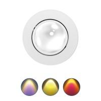 MOBiDIM COB Color Einbaustrahler, weiß