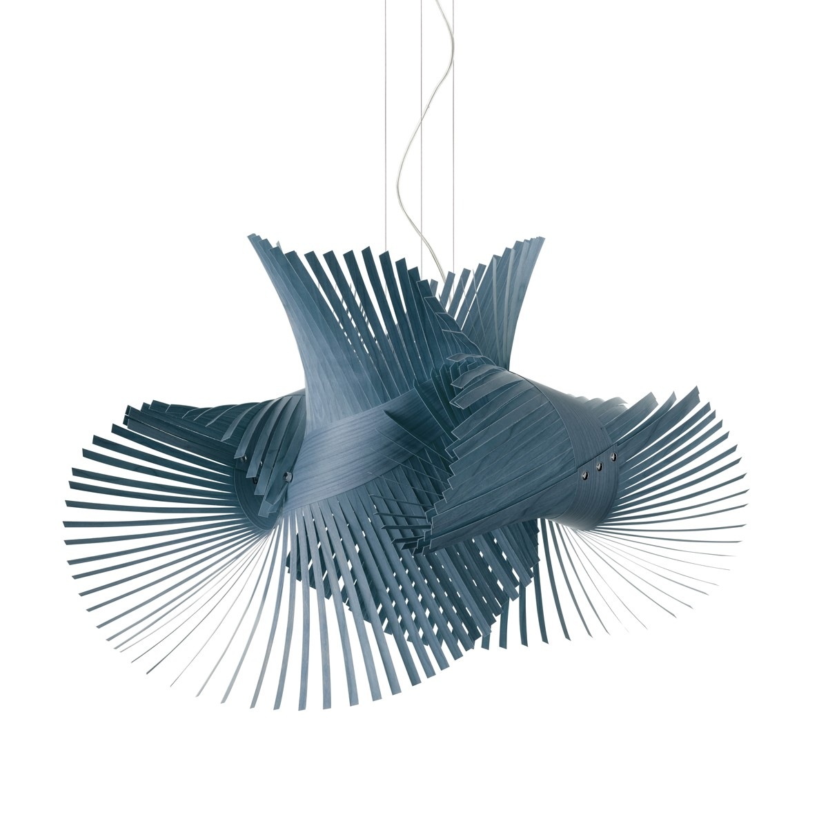 LZF Lamps MiniMikado Pendelleuchte, blau