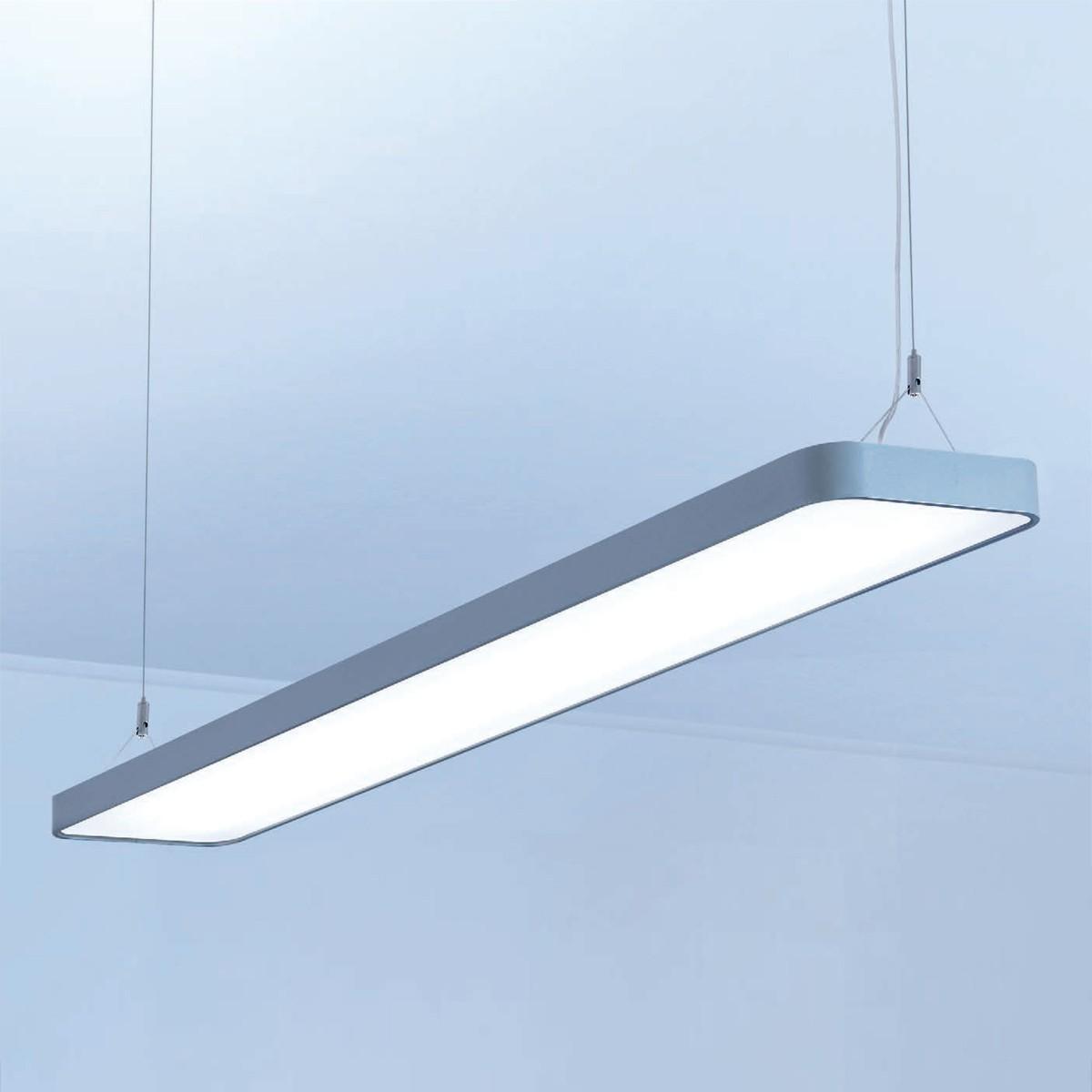 Lightnet Caleo-P1 Pendelleuchte, Länge: 90 cm, Silber matt