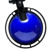 Berenice Tavolo Piccola, Gestell: schwarz, Reflektor: blau