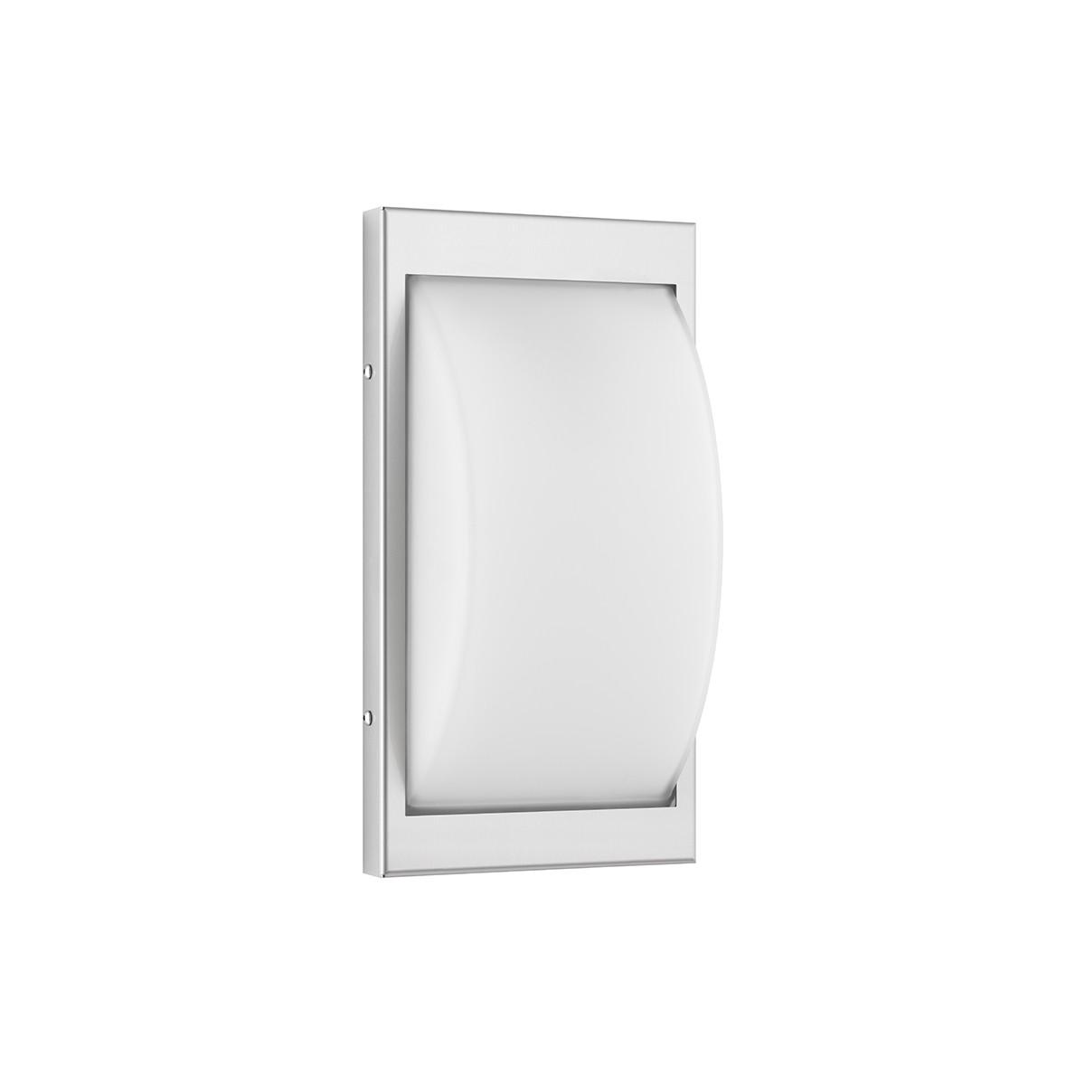 LCD Außenleuchten 068 Wandleuchte LED, Edelstahl, ohne Bewegungsmelder