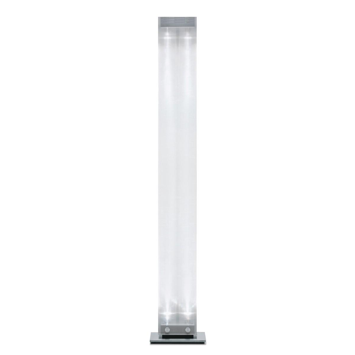 Belux Twilight-08 Stehleuchte LED, Chromstahl/Acrylglas