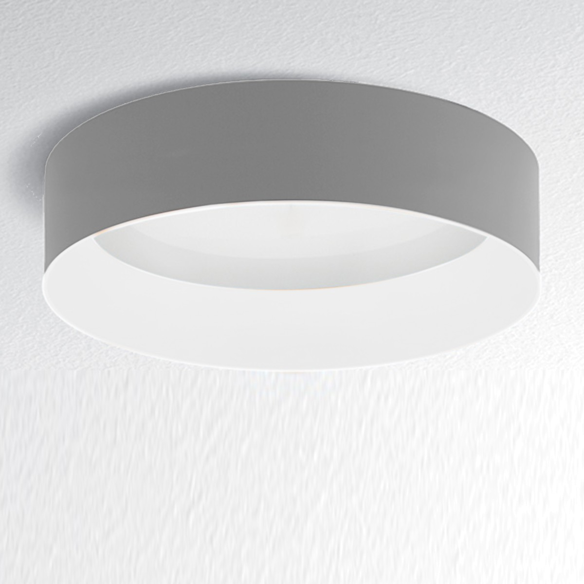 Artemide Architectural Tagora 970 Deckenleuchte LED, grau - weiß, dimmbar