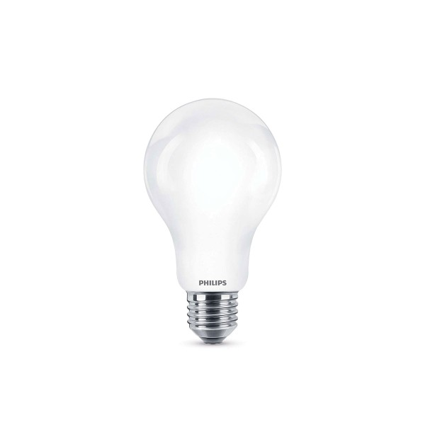 Philips LED Lampe E27 11,5 W, warmweiß, matt
