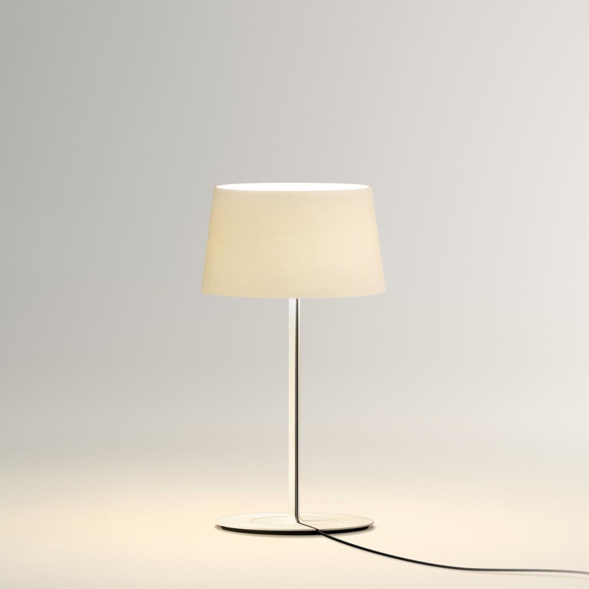 Vibia Warm Mini 4895 Tischleuchte, Screen / cremeweiß matt