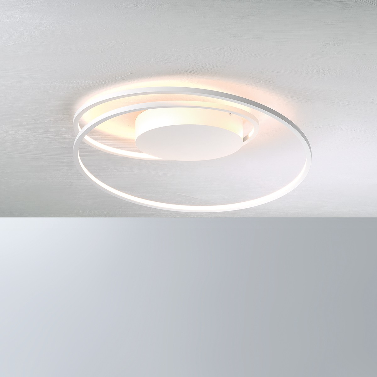 Bopp AT Deckenleuchte mit Modul, weiß, Ø: 45 cm