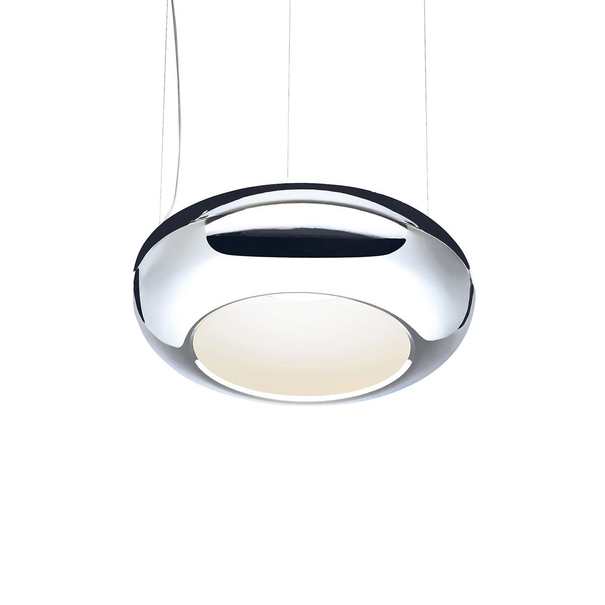Sompex Aura 01 LED Pendelleuchte, Ø: 61 cm, Chrom