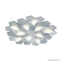 Karat Wand- / Deckenleuchte, Länge: 61,7 cm, Aluminium