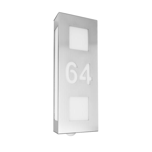 cmd leuchten aqua trilo hausnummer wandleuchte nr 64. Black Bedroom Furniture Sets. Home Design Ideas