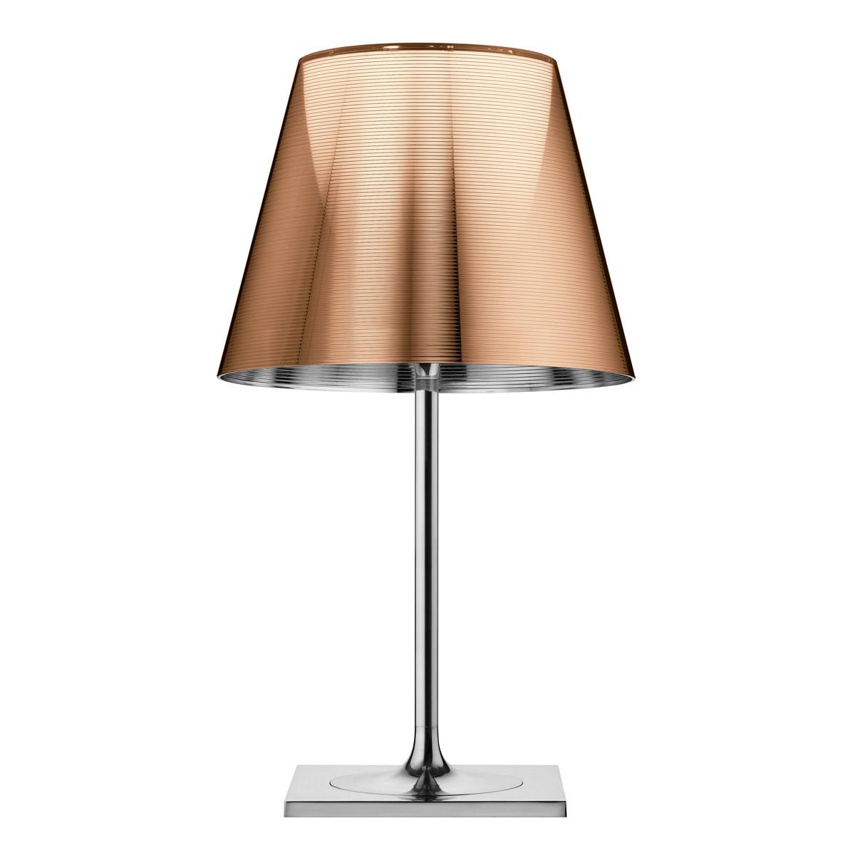 Flos KTribe T2 Tischleuchte, bronzefarben metallisiert