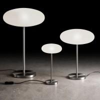 Amor T Tischleuchte LED, Höhe: 38 cm, Nickel matt