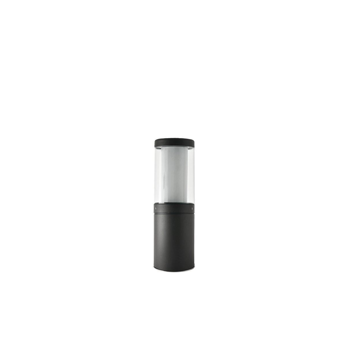 LCD Außenleuchten 1310/1311/1312 Pollerleuchte, Höhe: 45 cm, graphit