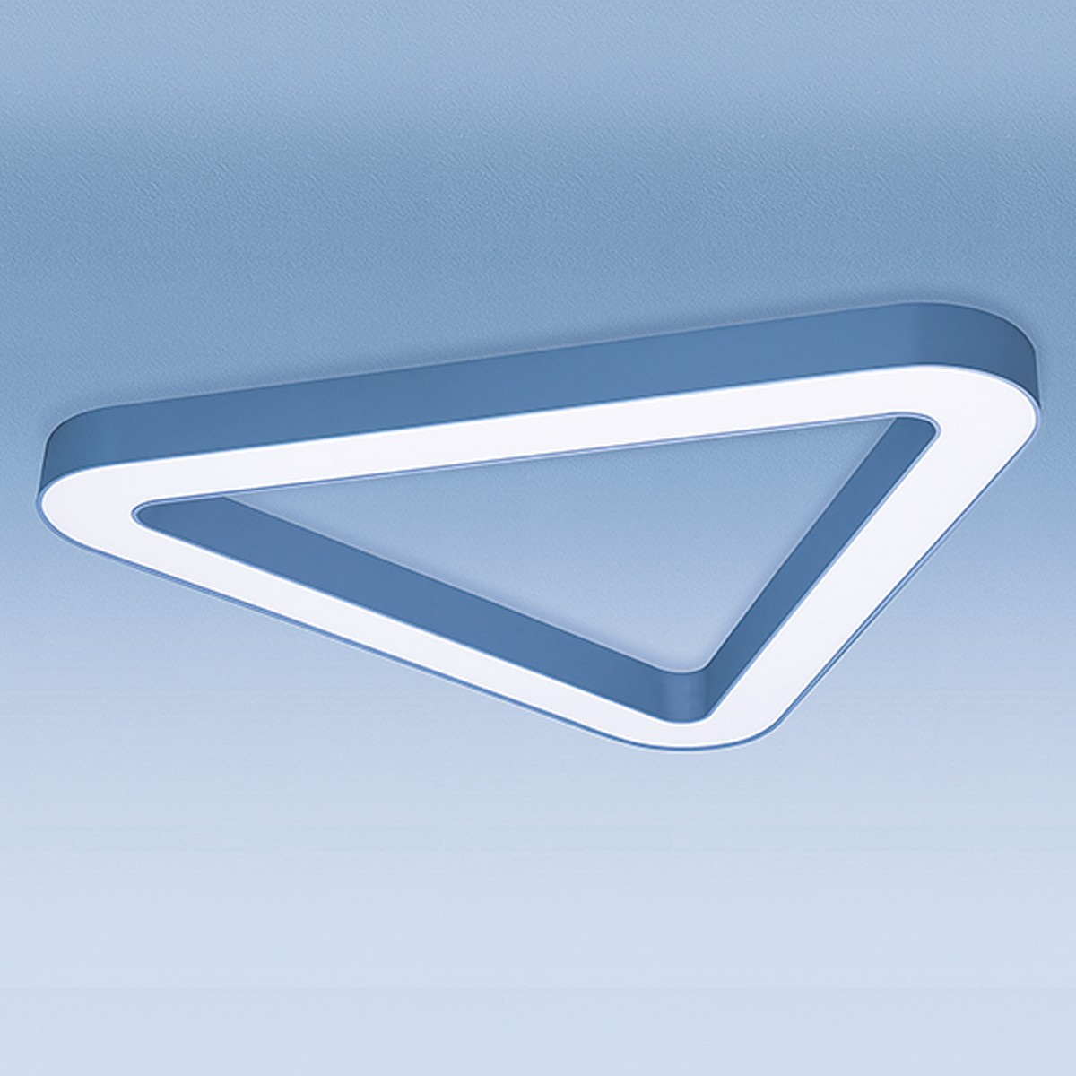 Lightnet Three Peaks-A Deckenleuchte, Länge: 84 cm, Silber matt