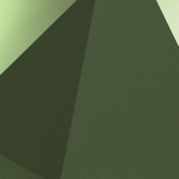 Vibia Origami 4508 Wandleuchte, 4-flg., rostgrün