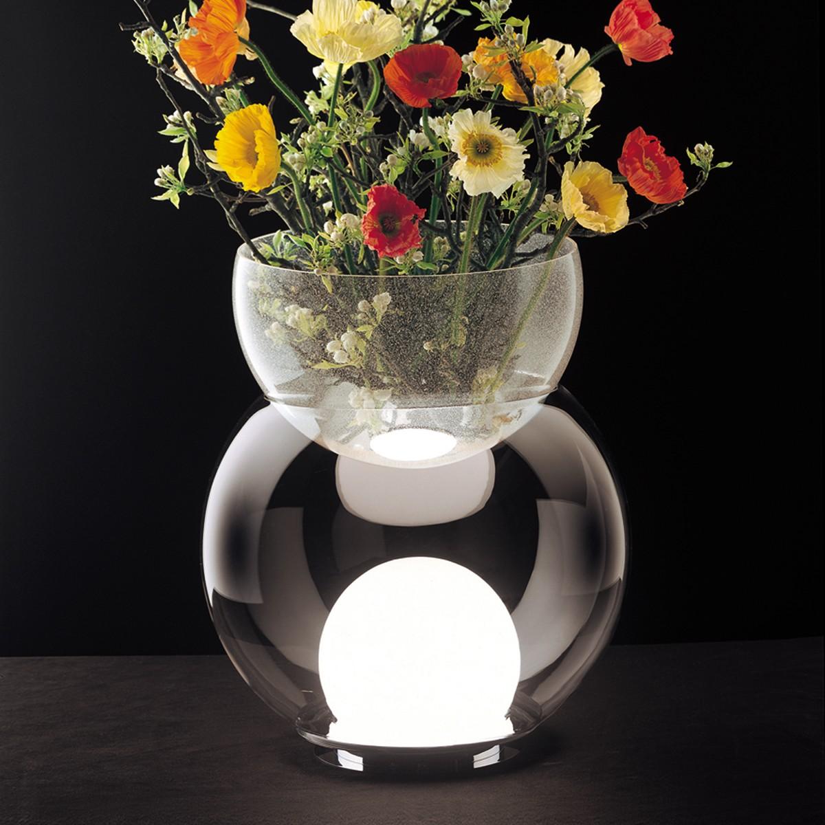 Fontana Arte Giova Tischleuchte, Höhe: 37 cm, Glas