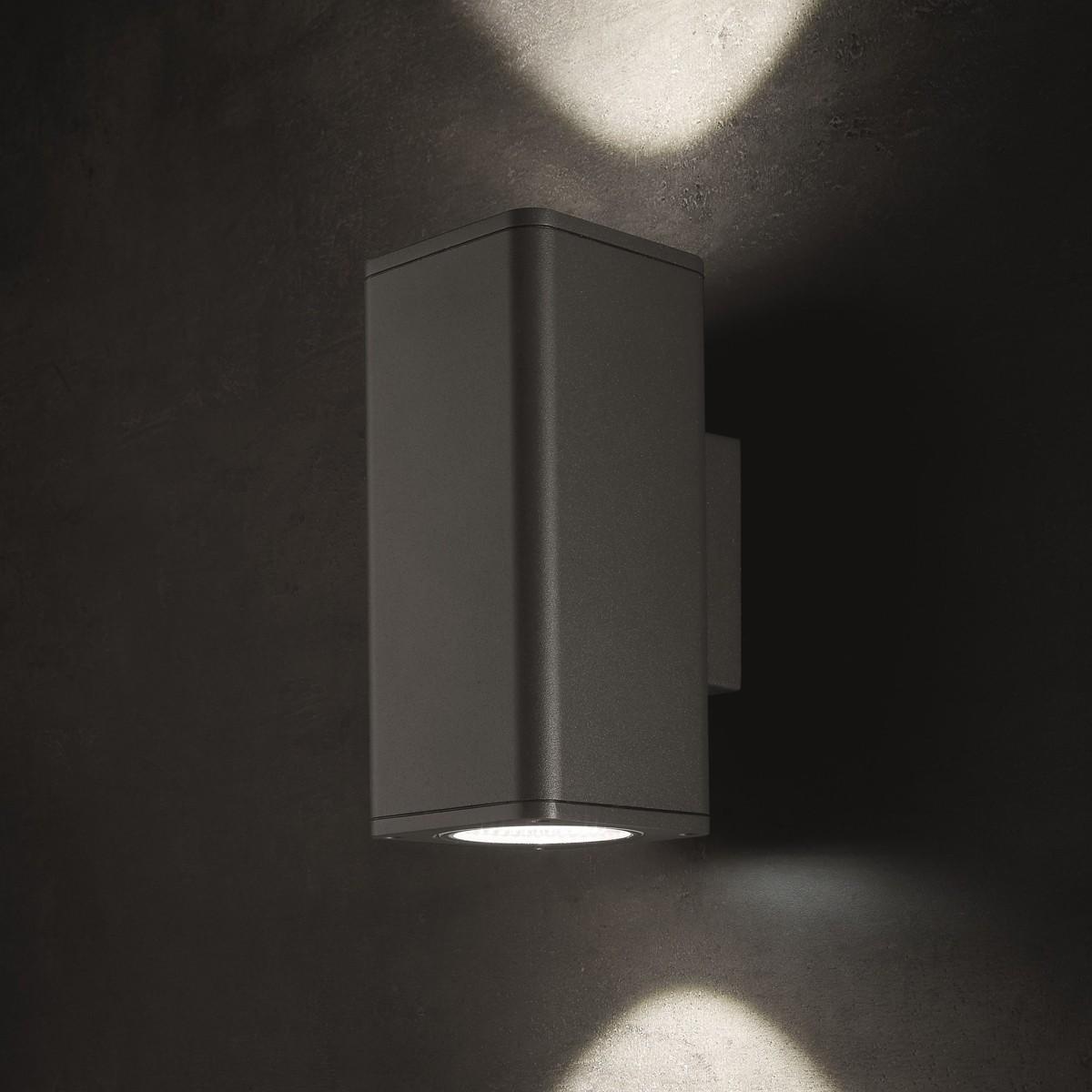 Lupia Licht Lumax Außenwandleuchte, anthrazit