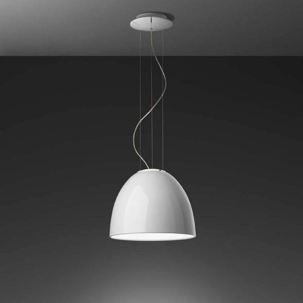 Artemide Nur Mini Gloss LED Sospensione, weiß glänzend