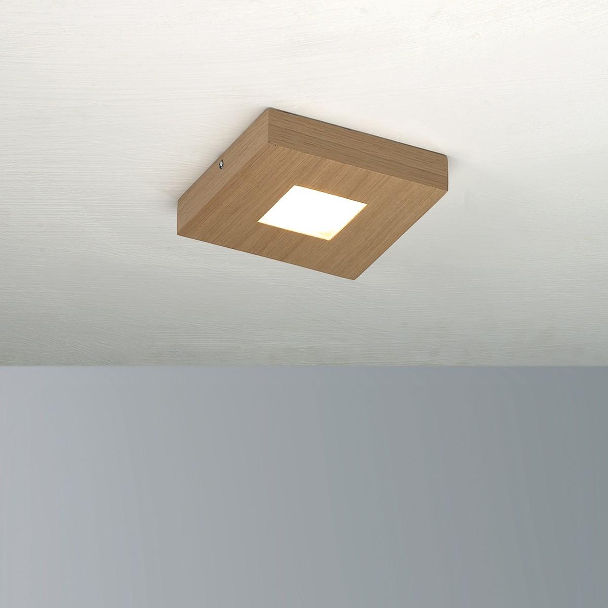 Bopp Cubus Deckenleuchte, 1-flg., Eiche natur