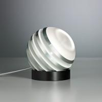 Bulo Tischleuchte, Aluminium / weiß