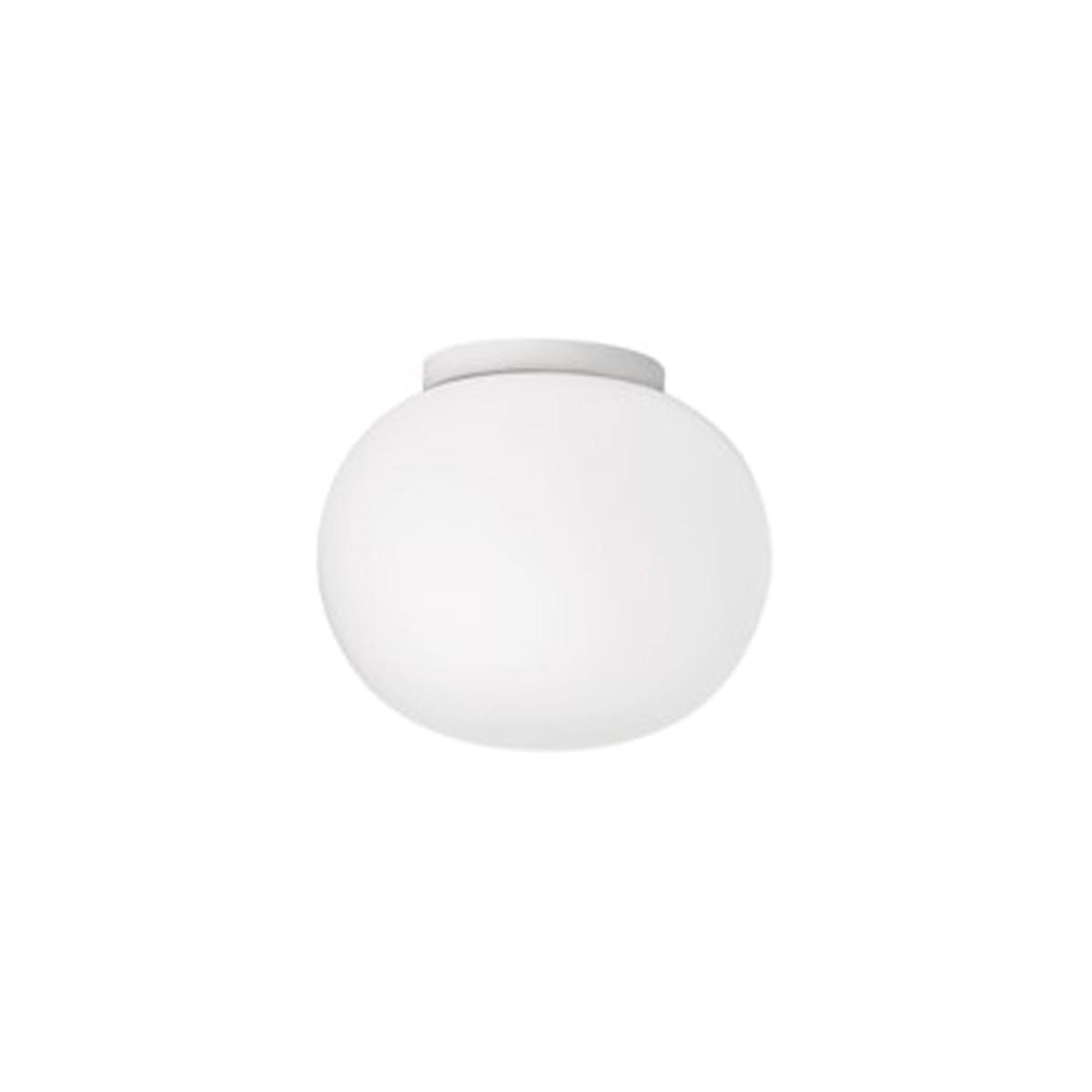 Flos Glo-Ball C/W Zero Wand- / Deckenleuchte, Ø: 19 cm, weiß