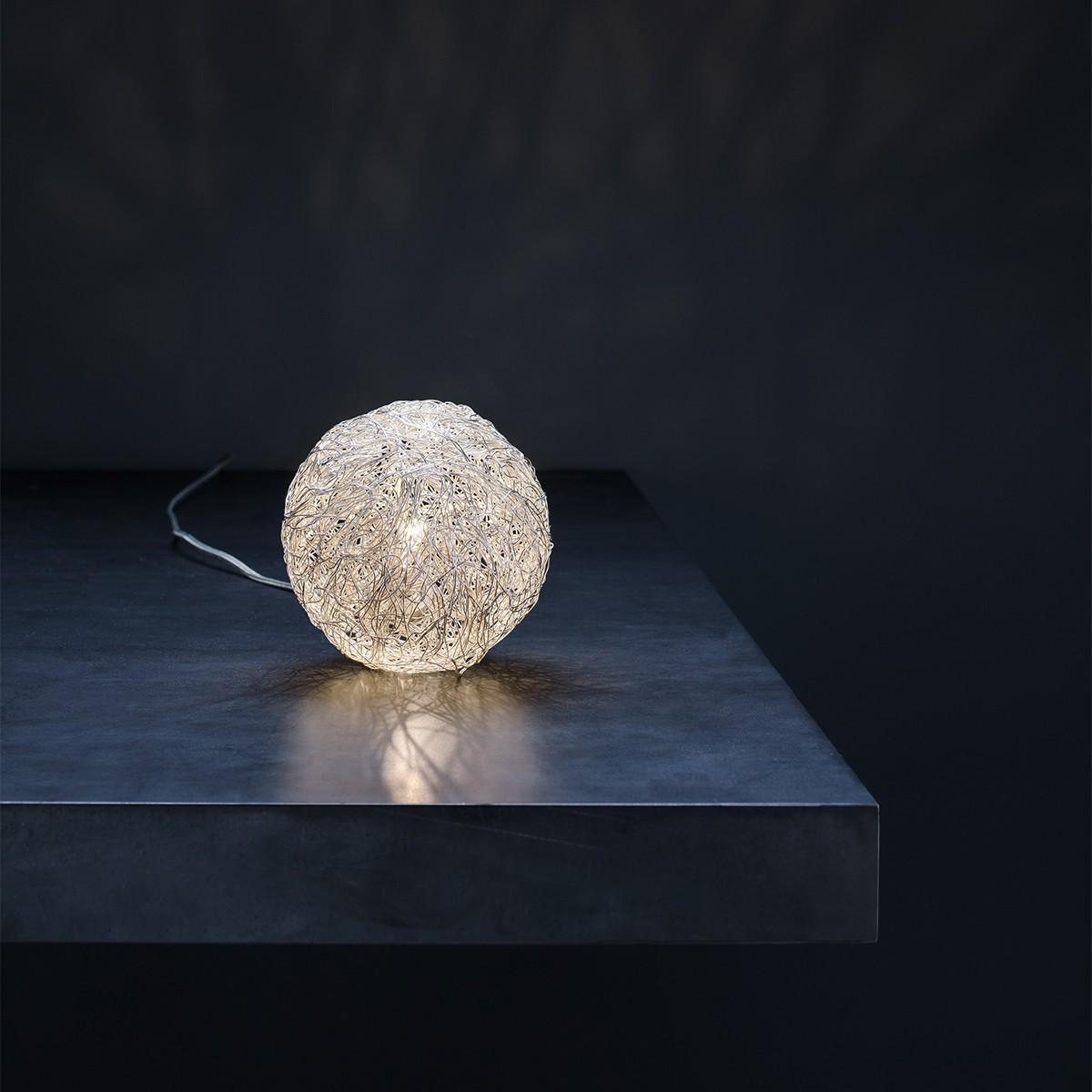 Catellani & Smith Sweet Light T Tischleuchte, Ø: 10 cm, Aluminium