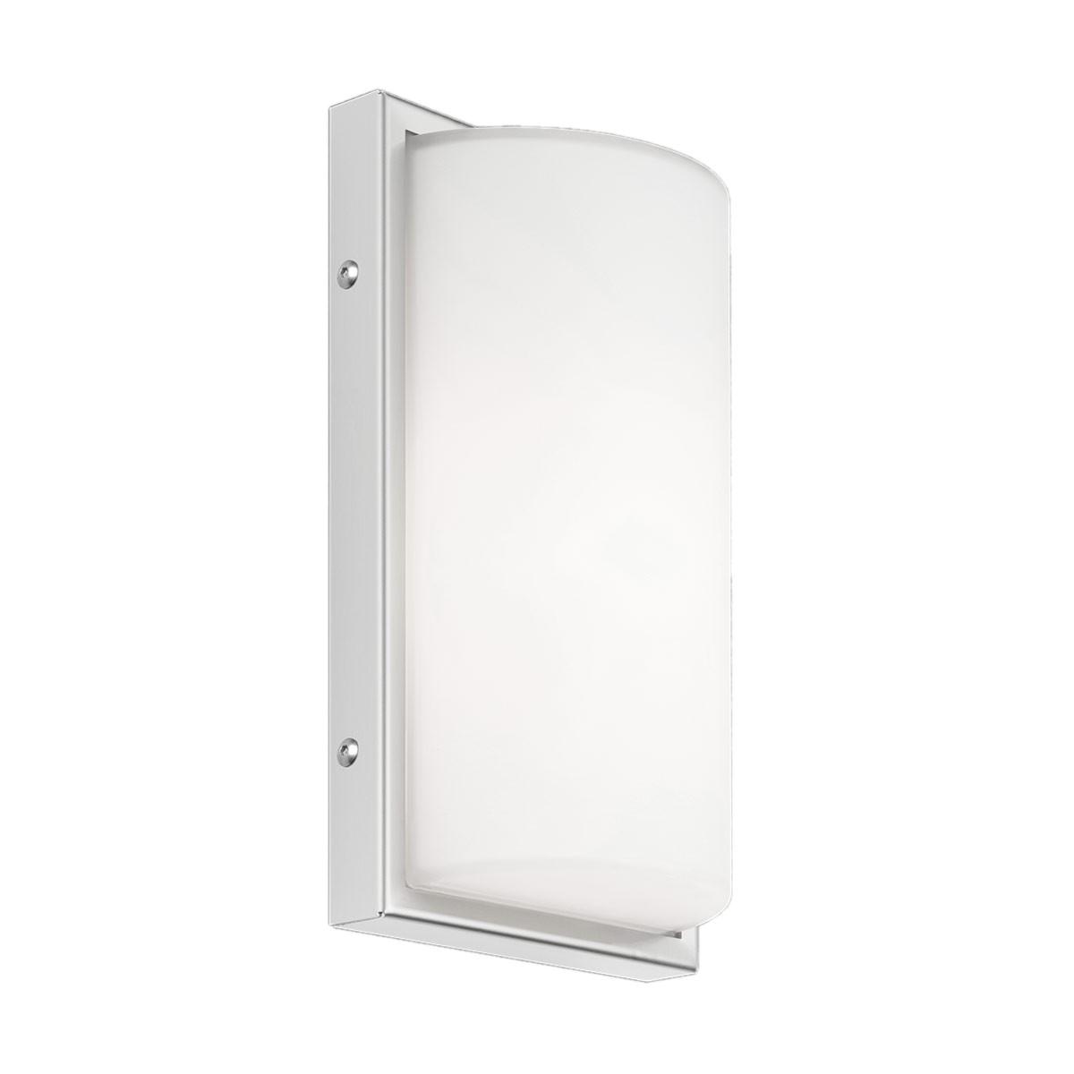 LCD Außenleuchten 040 Wandleuchte LED, Edelstahl, ohne Bewegungsmelder