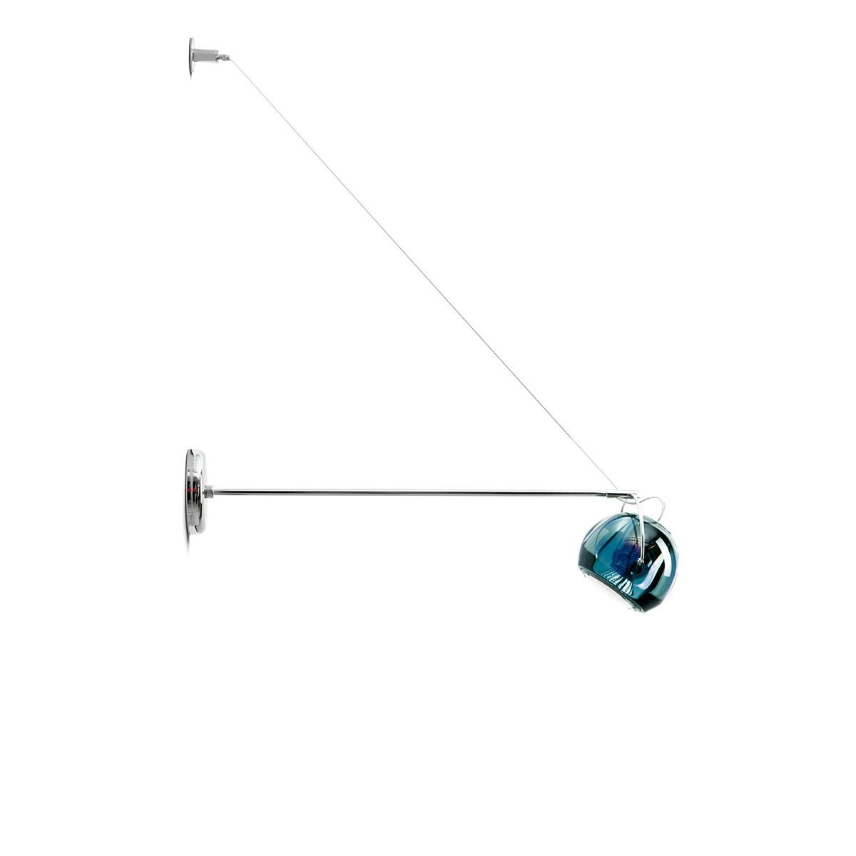 Fabbian Beluga Colour Wandleuchte, blau