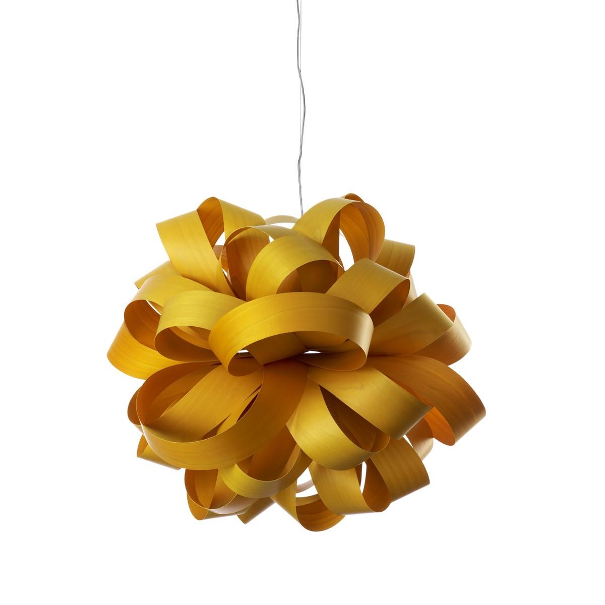 LZF Lamps Agatha Ball Pendelleuchte, gelb