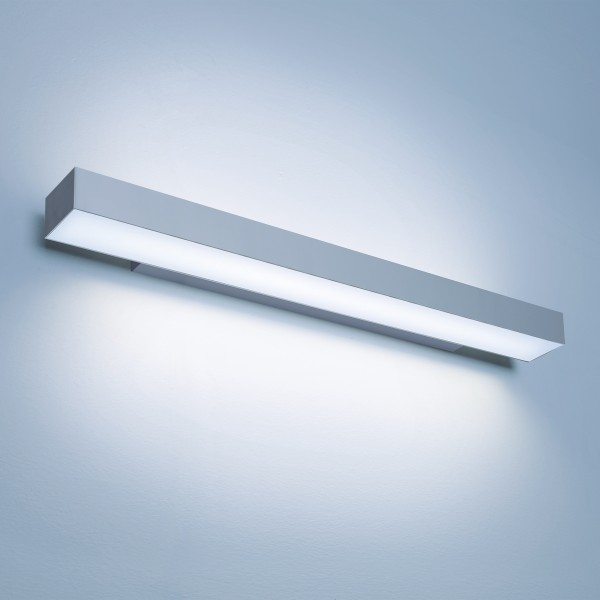 Lightnet Matric-W5 Wandleuchte, Mikroprismatik, Aluminium natureloxiert