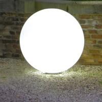 Snowball Außenleuchte ortsfest, Ø: 30 cm, ohne Zuleitung