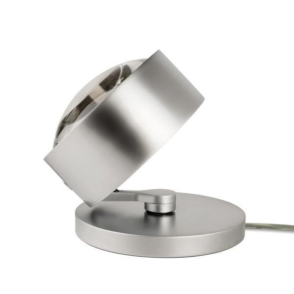 Top Light Puk Maxx Spot LED Tischstrahler, Chrom matt, Linse klar