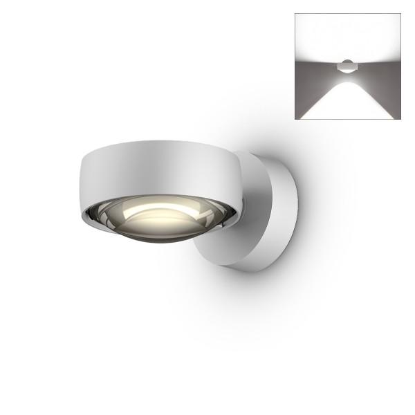 Occhio Sento E LED verticale up Wandleuchte, Chrom matt