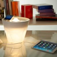 Rotaliana MultiPot+ LED Tischleuchte, weiß glänzend