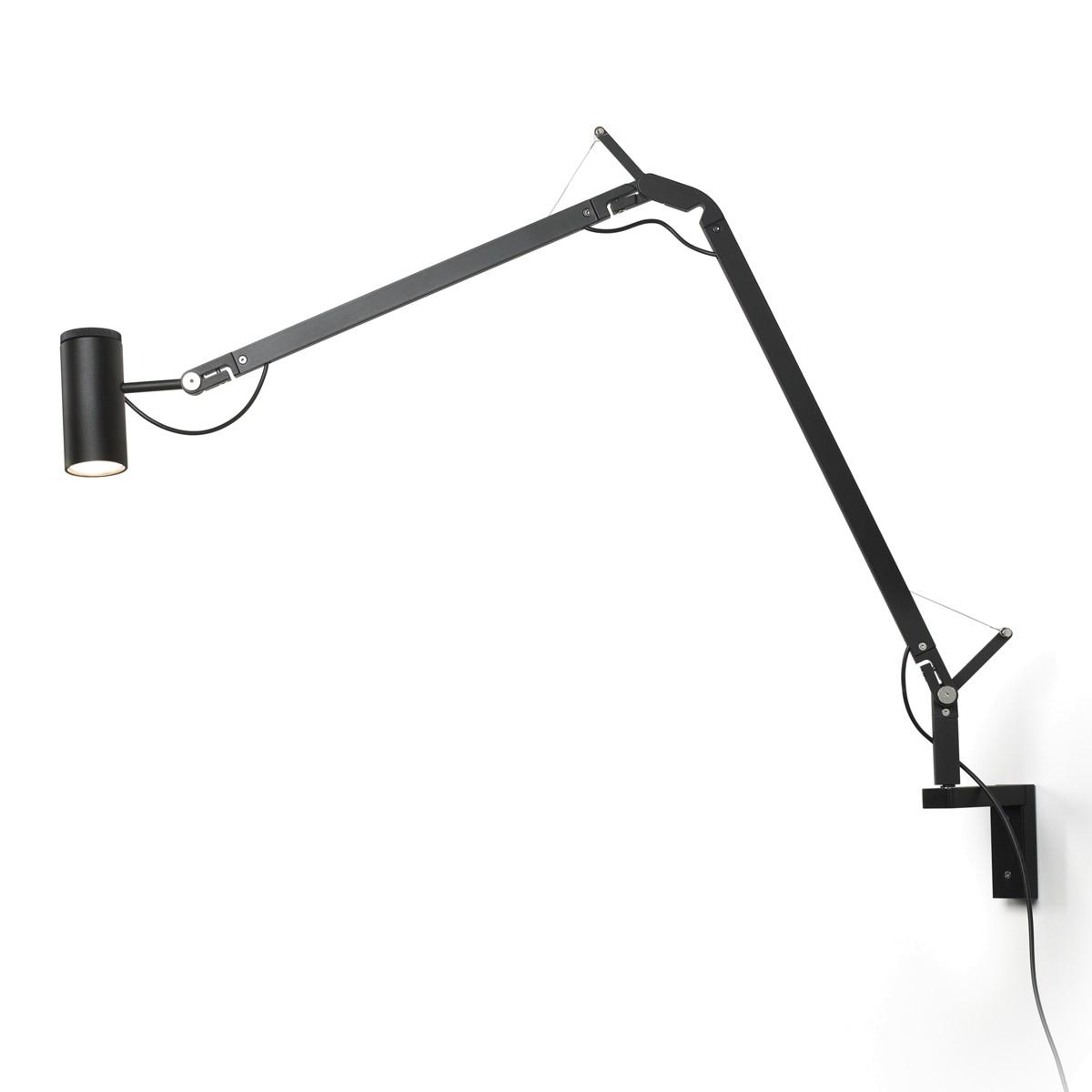 Marset Polo LED Wandleuchte, schwarz