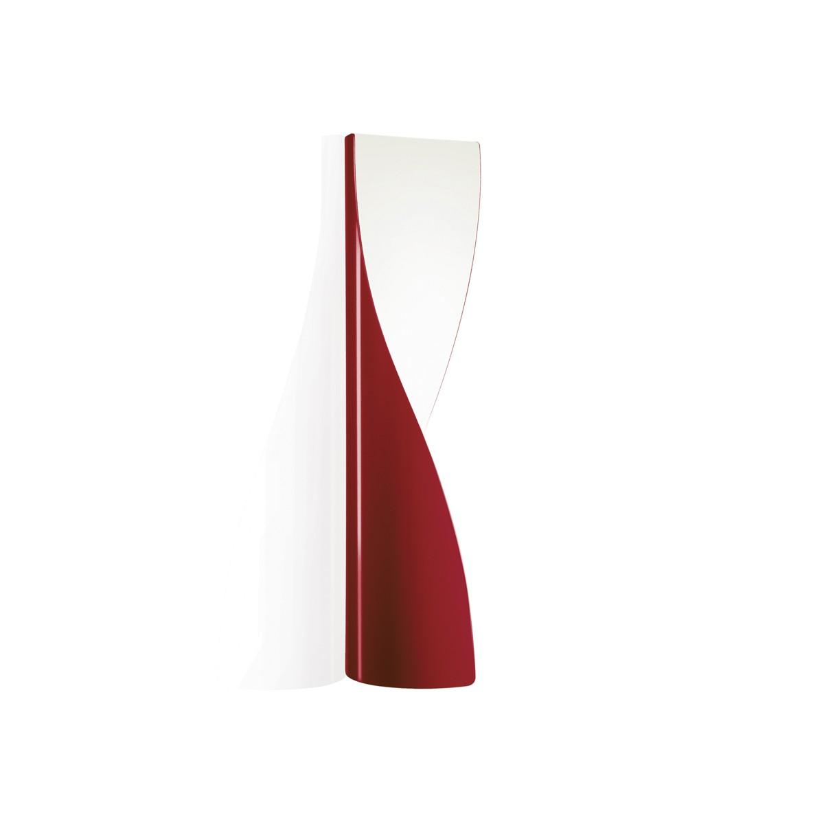 Kundalini Evita LED Wandleuchte, rot glänzend