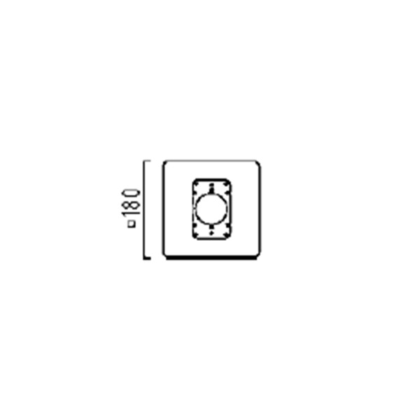 Helestra Pier Montage- / Adapterplatte