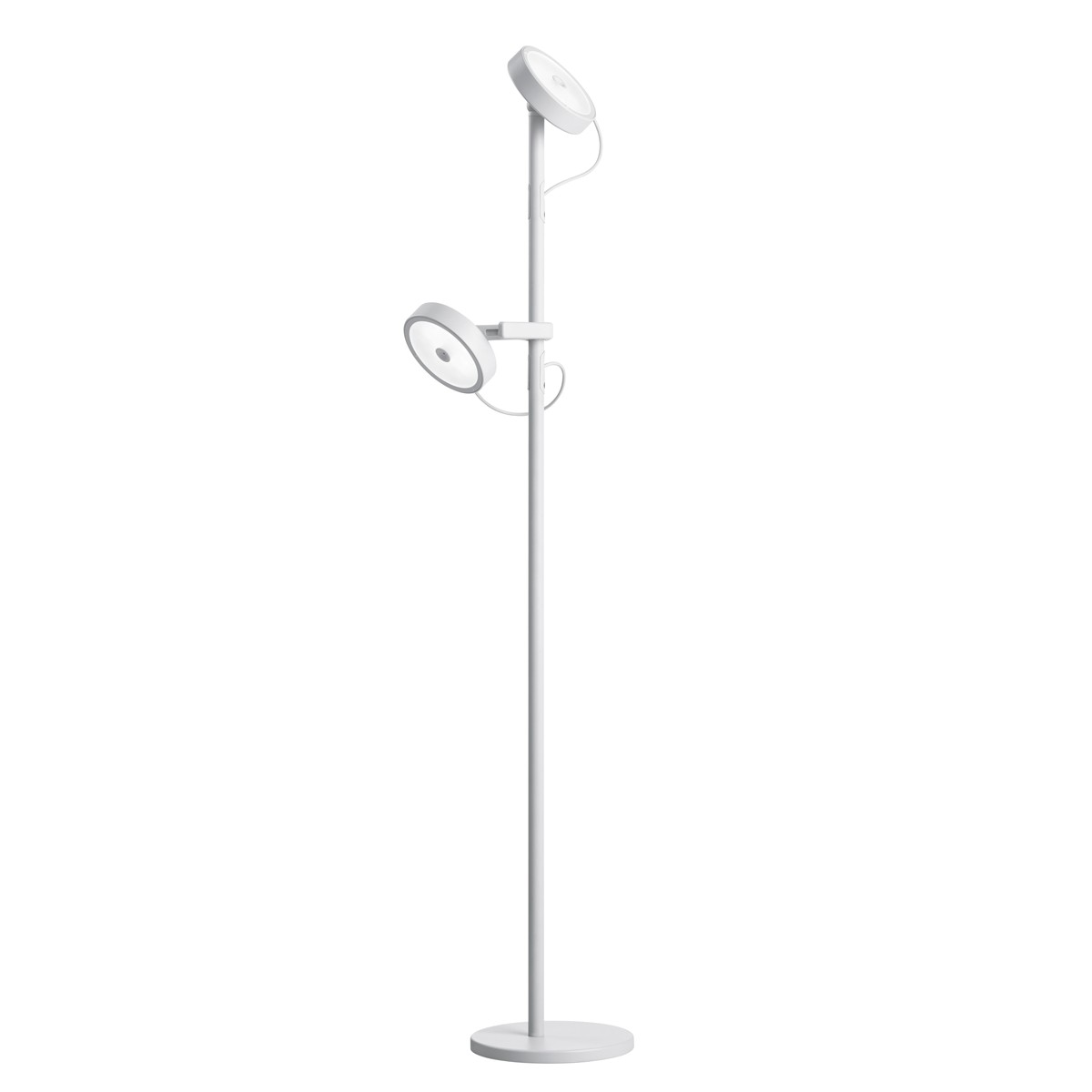 Belux U-Turn-12 LED Stehleuchte, telegrau
