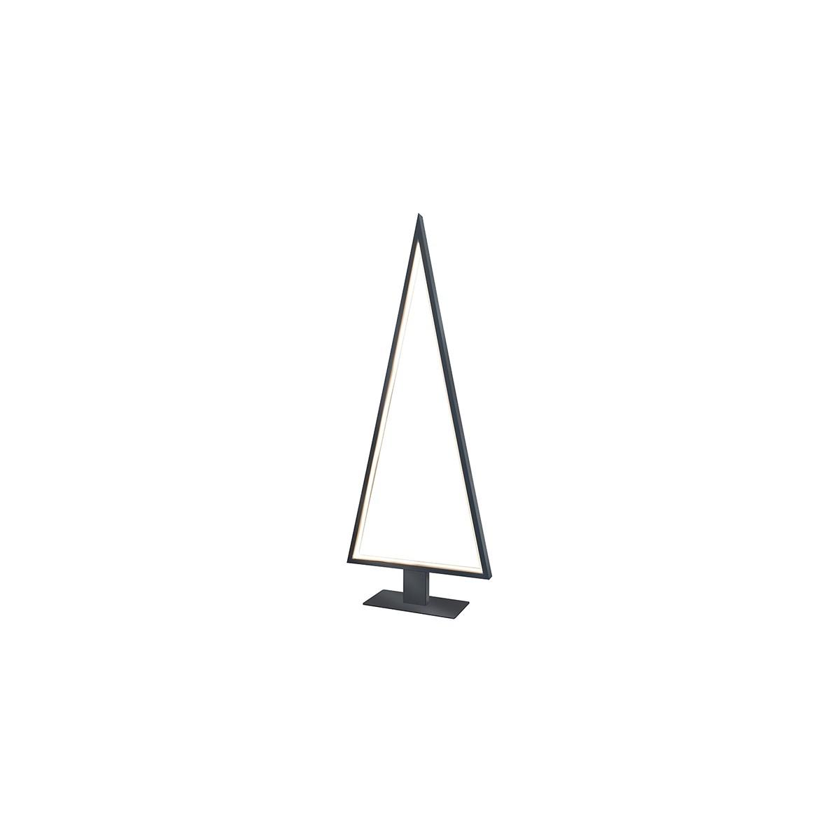 Sompex Pine Outdoor LED Außenstehleuchte, Höhe: 120 cm, grau