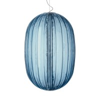 Plass Grande Sospensione LED, azzurro (blau)