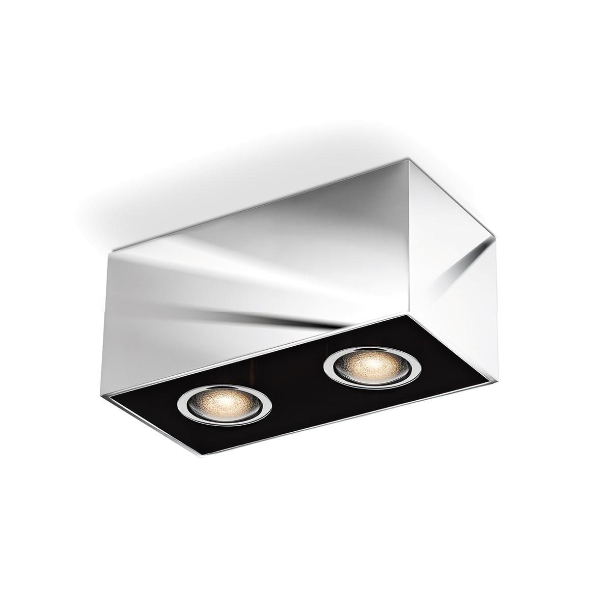 Bruck Cranny Spot LED Duo C Deckenleuchte, Chrom