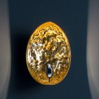 Catellani & Smith Stchu-Moon 05 Wandleuchte, weiß / Gold