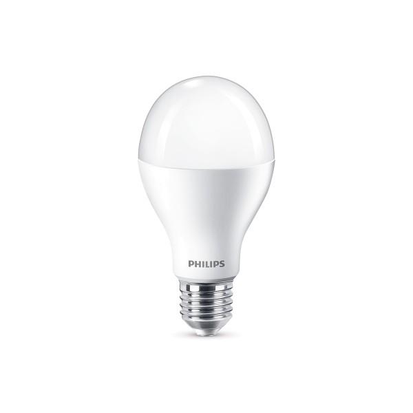 Philips LED Lampe E27 16 W, warmweiß, dimmbar, matt