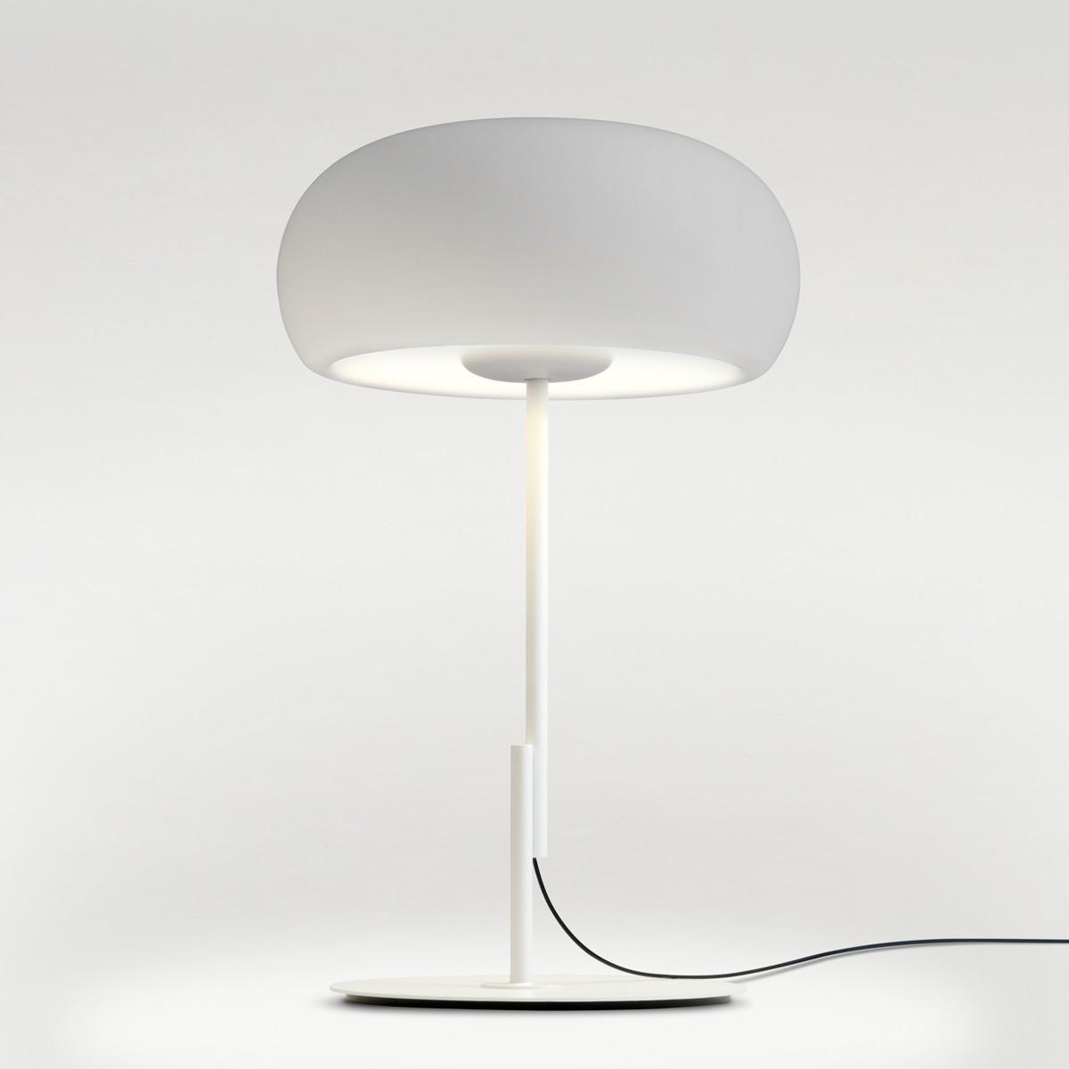 Marset Vetra S LED Tischleuchte, weiß