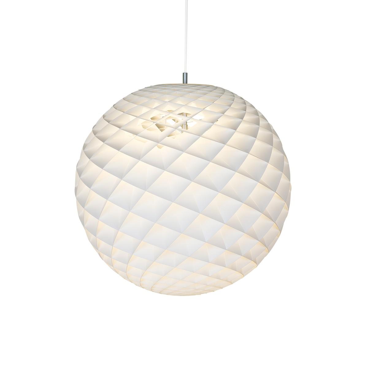 Louis Poulsen Patera Pendelleuchte, Ø: 45 cm, weiß matt