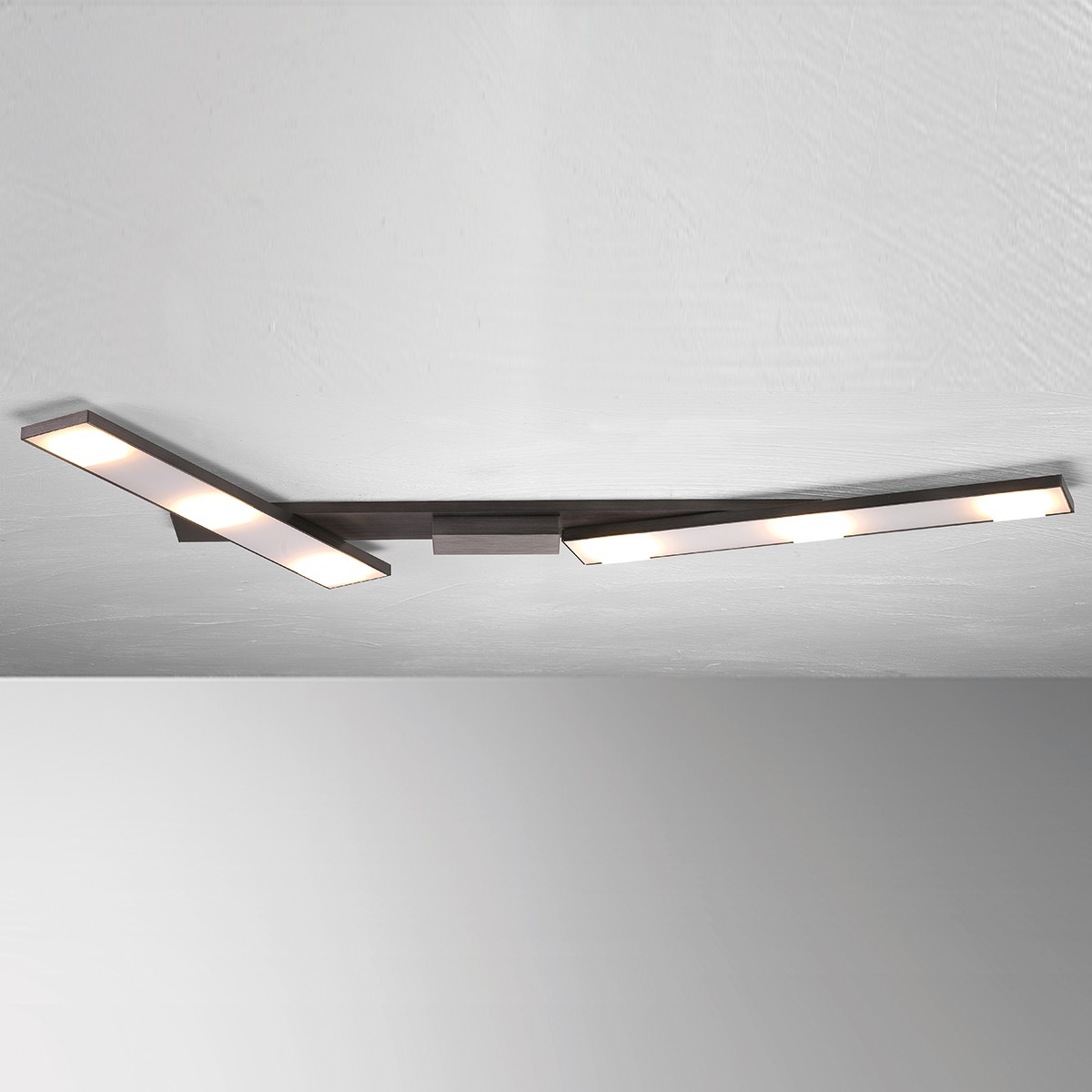 Bopp Slight LED Deckenleuchte, Länge: 115 cm, anthrazit