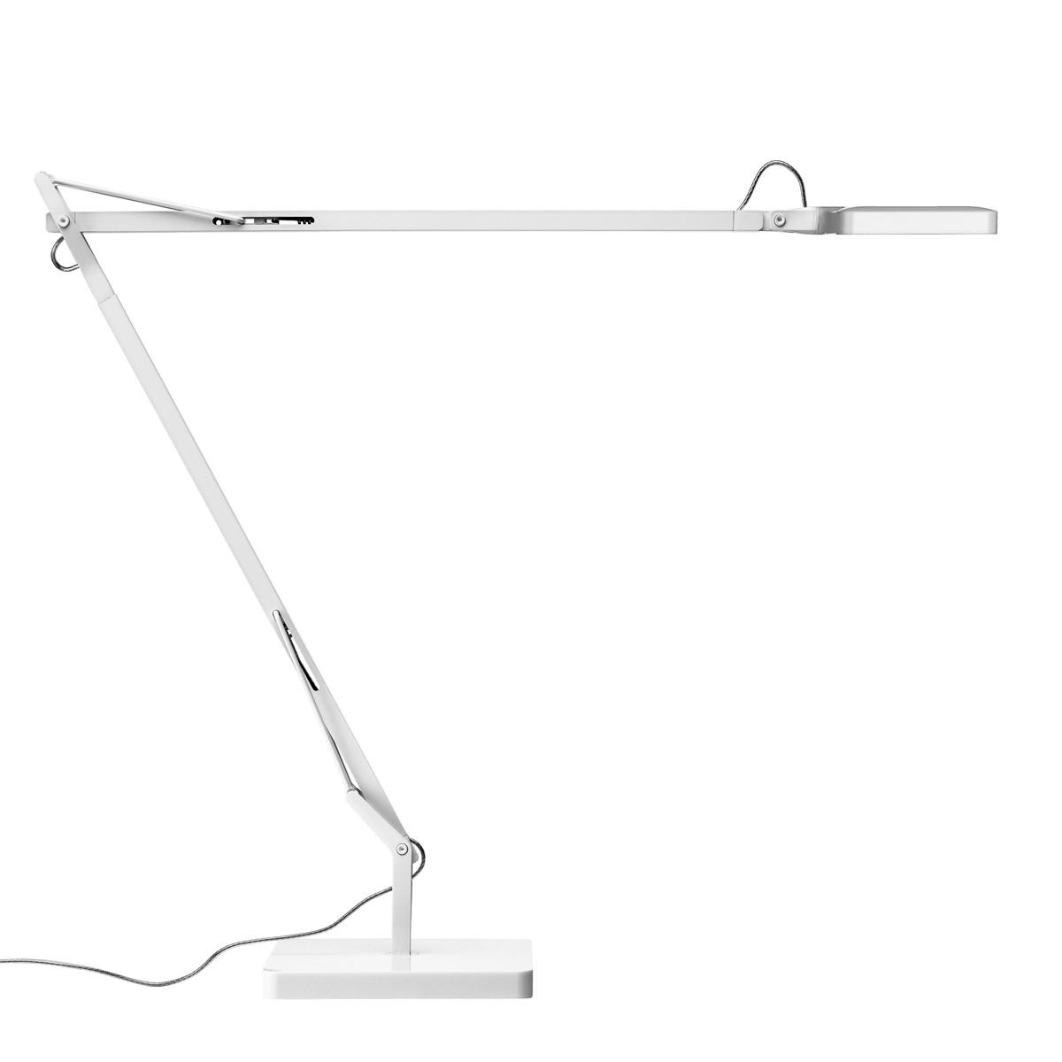 Flos Kelvin LED Tischleuchte, weiß glänzend